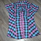 Тонкая модная рубашка