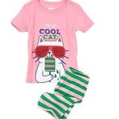 Яркие пижамы для девочек Crazy 8 2T 3T 4T