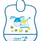 Canpol Babies Слюнявчик пластиковый мягкий