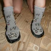 Комнатные тапки-носки.