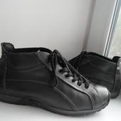 раз.42.Hush Puppies демисезонные кожаные ботинки