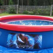 Наливной бассейн bestway Spider Man 98007