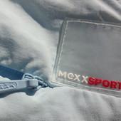 Mexx. Качественные спортивные бриджи. Голубые с кнопками.