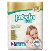 Подгузники Predo Baby Premium 3 (4-9 кг), 68 шт