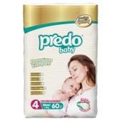 Подгузники Predo Baby Premium 4 (7-18 кг), 60 шт
