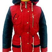 Демисезонная куртка-парка для девочки  СП