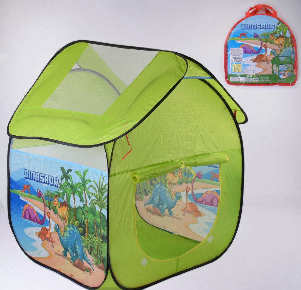 Детская палатка динозавры 112 102 114 см фото №1