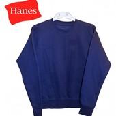 Свитер джемпер детский темносиний с начесиком, бренд «Hanes» (США)