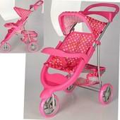 Детская коляска для кукол книжка Melogo 9614