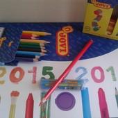 промо-набор JOVI пластилин + карандаш + УП, всего за 12грн!!!!!