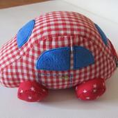 Мягкая игрушка машинка Baby Glück, Spiegelburg (Chicco Haba fehn)