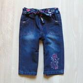 Стильные джинсы для девочки. Early Days. Размер 6-9 месяцев. Состояние: новой вещи