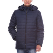 Длинная мужская зимняя куртка