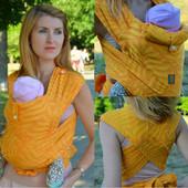 Май-слинг шарфомай ТМ Nashsling из мягкой шарфовой ткани. Киев, Харьков