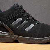 Кроссовки Adidas Zx Flux Winter на меху, р. 43-46, код mvvk-1153