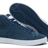 Кроссовки Nike Blazers High на меху, р. 40-44, код mvvk-1155