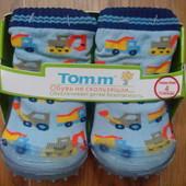 Распродажа!!! Носочки на резиновой подошве от Tom.M. Тапочки
