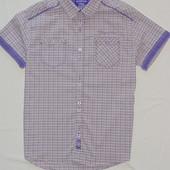 Рубашка в клетку шотландка