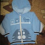 Демисезонная курточка на мальчика 1-2 года.