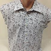 Рубашка, футболка стильная новая мужская L-ка