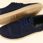 Туфли оксфорды натуральная кожа нубук В2250