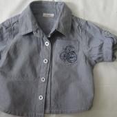 рубашка 62см F&F