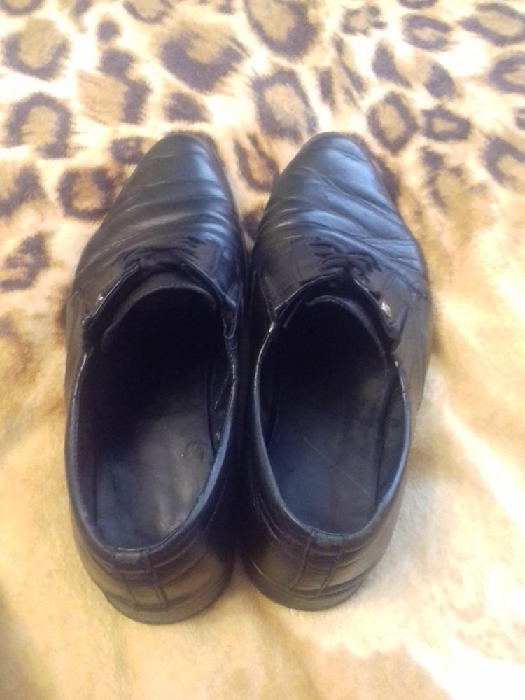 Туфли мужские кожанные фото №1