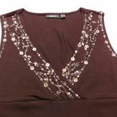 Mexx. Шикарное платье из вискозы с металлическими нашивками.