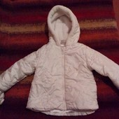 Куртка Ladybird для девочки 6-9мес.демисезон