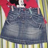 Джинсовая юбка NEXT 92 см