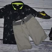 5 - 6 лет 118 см Очень модные крутые Шорты фирменные для мальчикам Зара Zara
