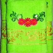 Махровое лицевое полотенце 90 х 47 см