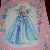 Качественная полуторная постель постельное белье Барби Barbie оригинал