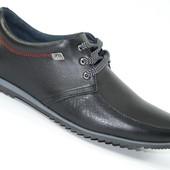 Мужские туфли Натуральная кожа  в двух цветах