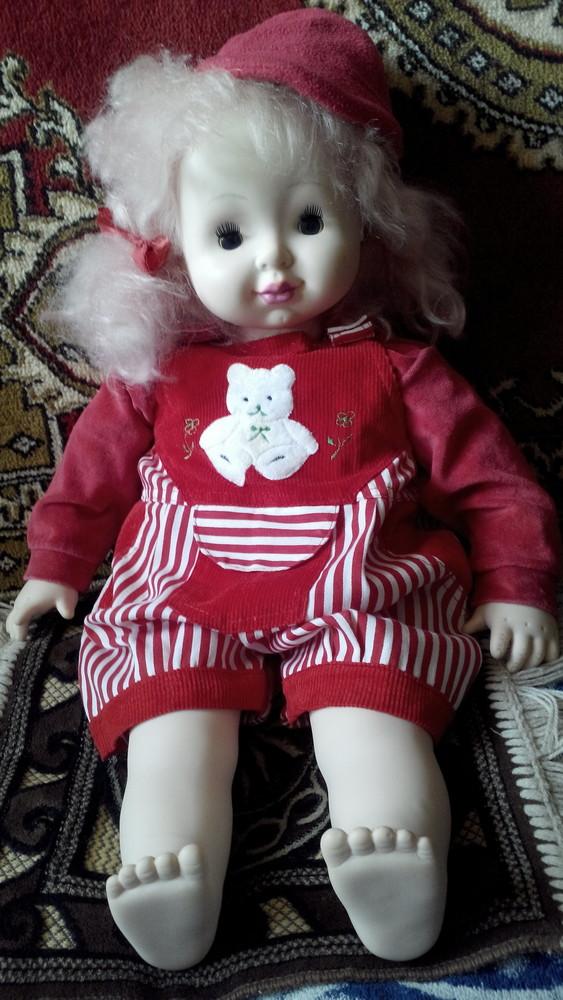 Большая кукла задорная хулиганка, 61 см фото №1