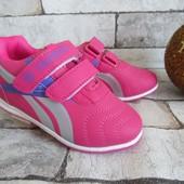 Распродажа розовые кроссовки 27  р на 16.5 см