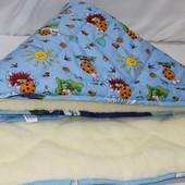 Одеяло детское Голд меховое 110*140 хлопок