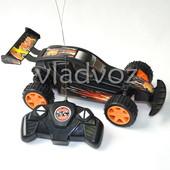 Машинка на радио управлении модель багги Attack черная