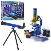 Детский игровой набор Микроскоп и телескоп