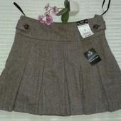 отличная новая теплая юбка плиссе от F&F, p.8