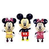 Микки и Минни Маусы - фольгированные шары 110 см