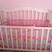 Защита-сетка на кроватку / Захист-сітка на ліжечко
