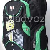 Школьный рюкзак для мальчиков DFW sport зел.чёрн.