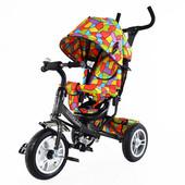 Велосипед трехколесный Tilly Trike T-351 большое надувное колесо! супер акция
