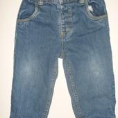 джинсы на х.б подкладке на 12-24 мес