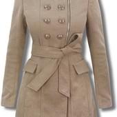Пальто женское классическое двубортное