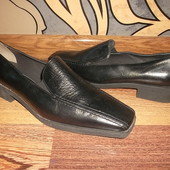 Туфли на низком ходу Натуральная кожа