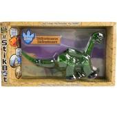 Фигурка для анимационного творчества Stikbot mega dino Бронтозавр Карнотавр Тираннозавр