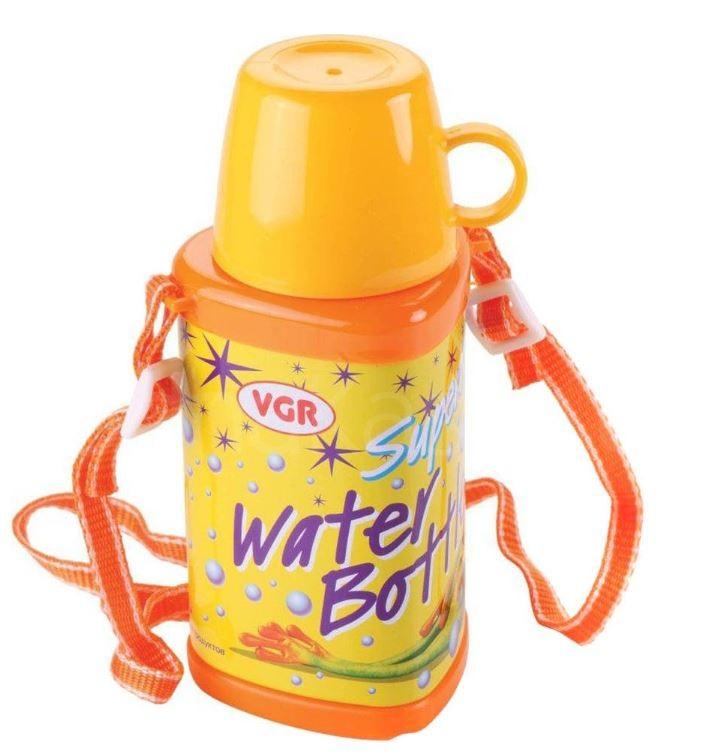 Распродажа - Бутылочка для воды с чашкой 350 мл. от VGR Италия в школу  школе фото №1