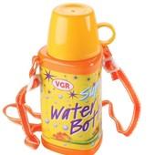Распродажа - Бутылочка для воды с чашкой 350 мл. от VGR Италия в школу  школе